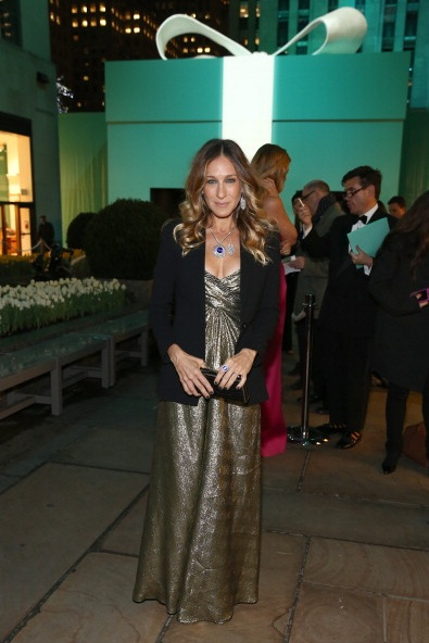 Sarah Jessica Parker  attends Tiffany & Co. Its Blue Book Ball
