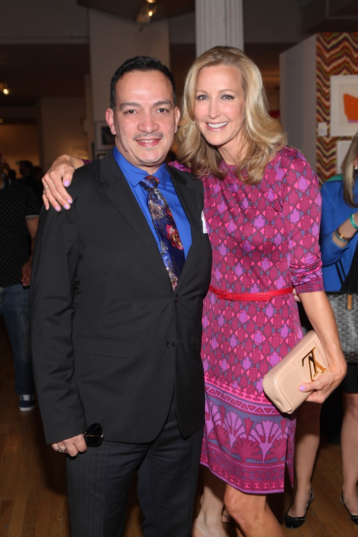 Anthony Rubio, Lara Spencer attend Housing Works 9th Annual Design On A Dime Benefit (Photo by Yoni Levy)