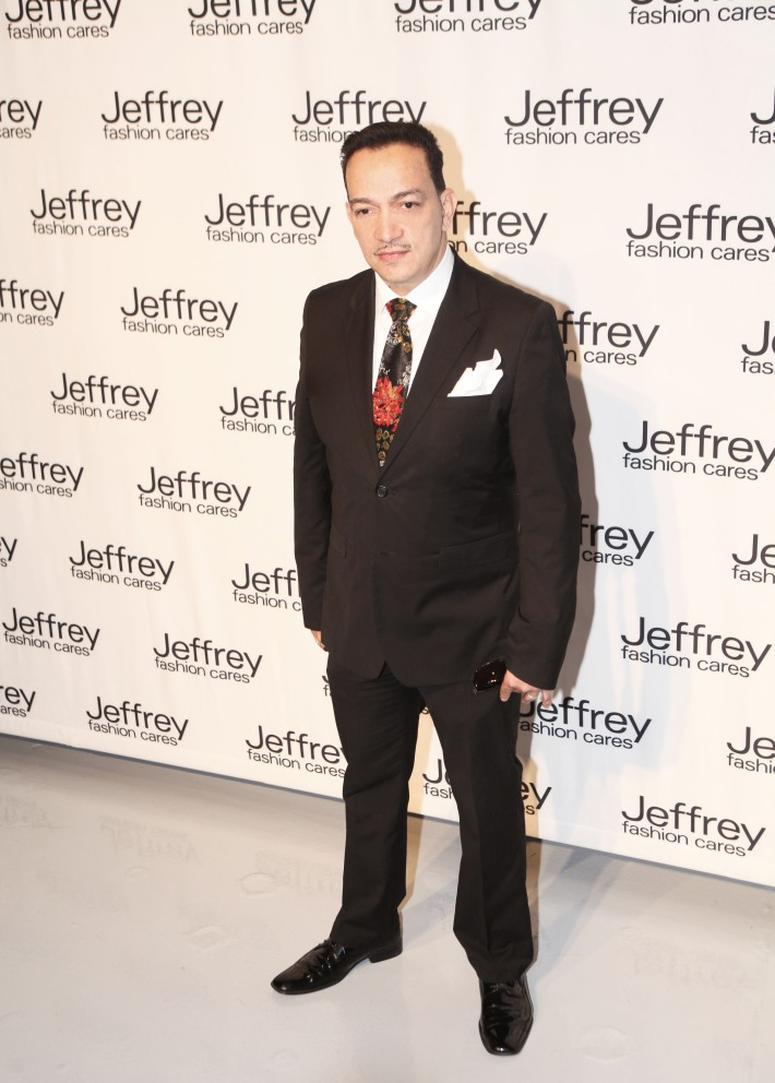 Anthony Rubio at Jeffrey Fashion Cares 10th Anniversary Celebration Photo by Yoni Levy