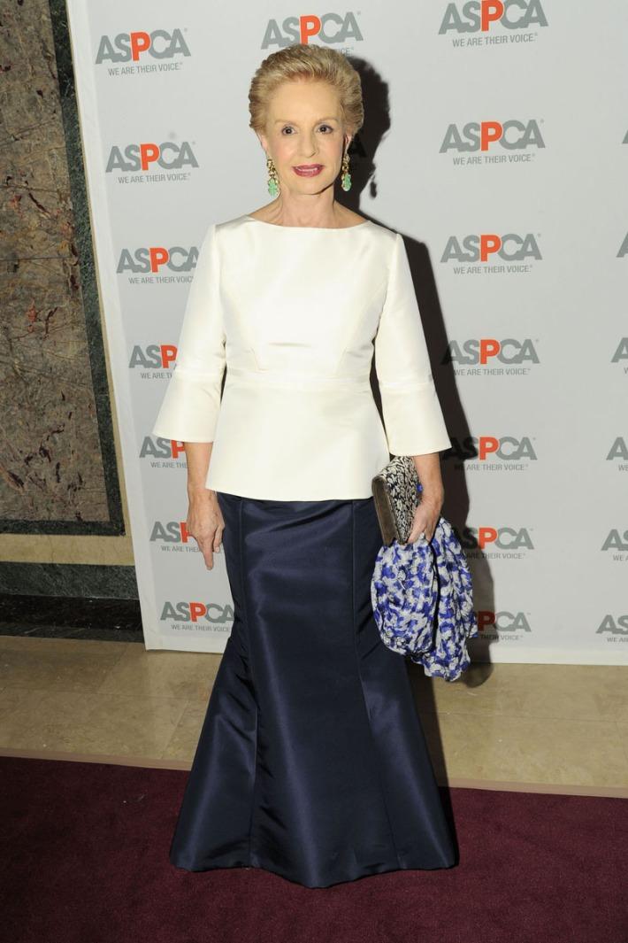 Carolina Herrera attends 16th Annual ASPCA Bergh Ball