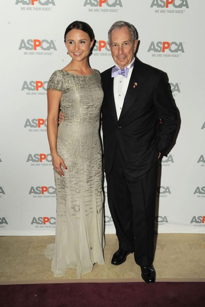 Georgiana Bloomberg and Mayor Michael Bloomberg attend 16th Annual ASPCA Bergh Ball