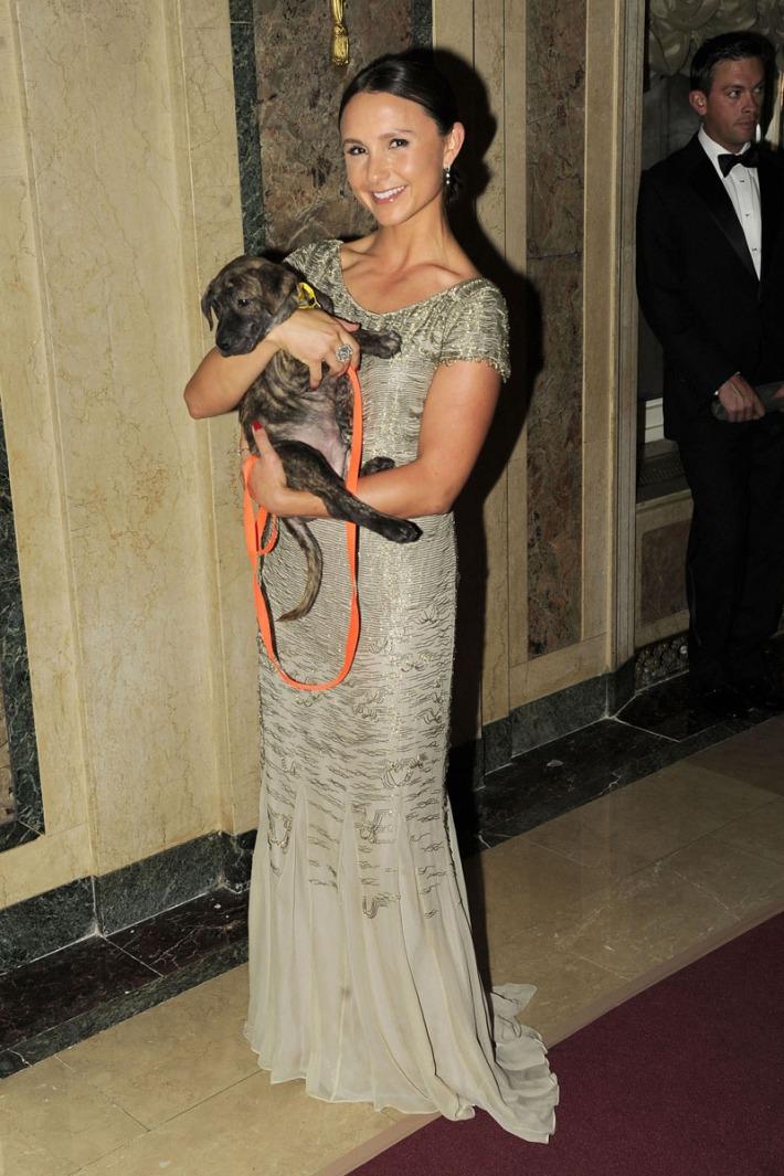 Georgiana Bloomberg attends 16th Annual ASPCA Bergh Ball