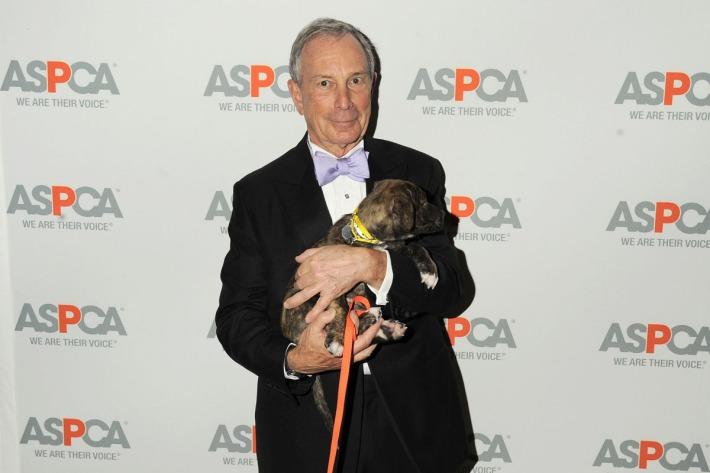 Mayor Michael Bloomberg attends 16th Annual ASPCA Bergh Ball
