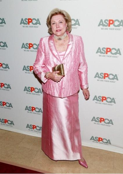 Barbara Taylor Bradford attends 16th Annual ASPCA Bergh Ball
