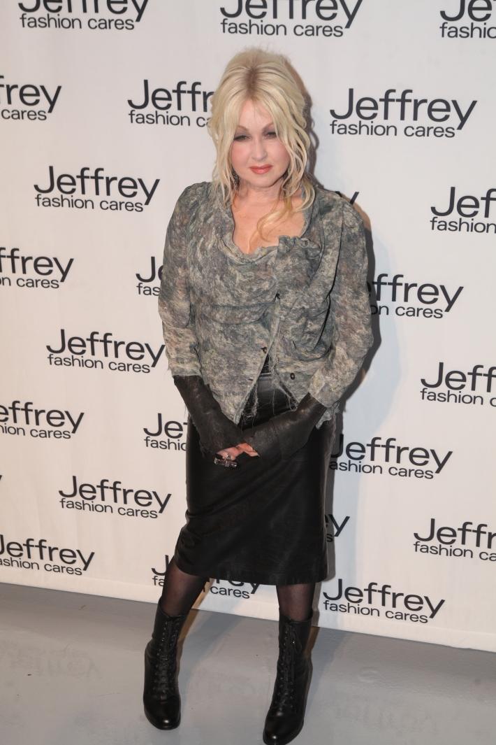 Cyndi Lauper at Jeffrey Fashion Cares 10th Anniversary Celebration Photo by Yoni Levy