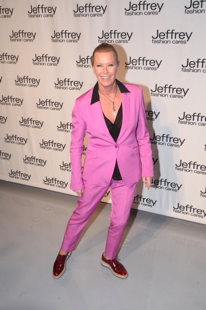 Efva Attling at Jeffrey Fashion Cares 10th Anniversary Celebration Photo by Yoni Levy