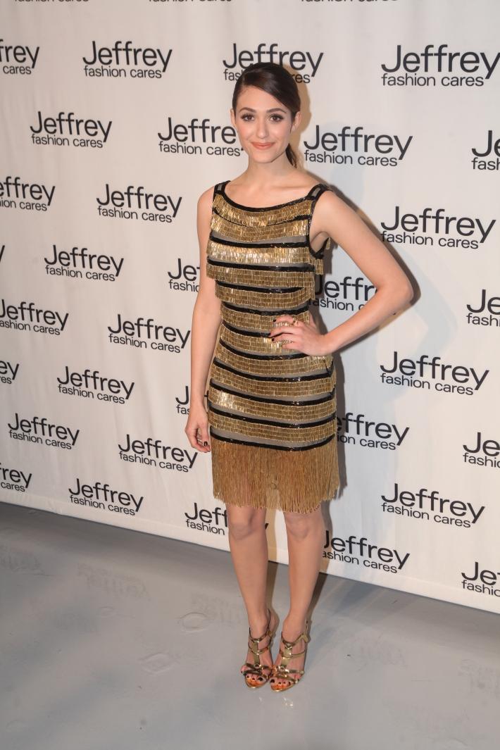 Emmy Rossum at Jeffrey Fashion Cares 10th Anniversary Celebration Photo by Yoni Levy