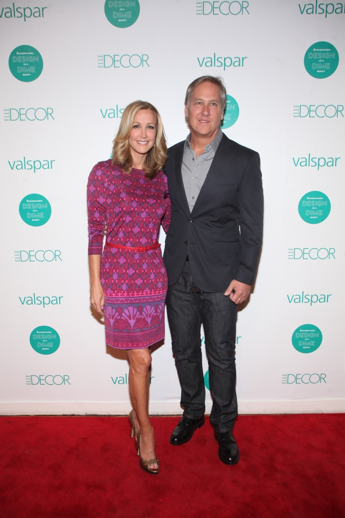 Lara Spencer and Michael Boodro at Housing Works 9th Annual Design On A Dime Benefit (Photo by Yoni Levy)