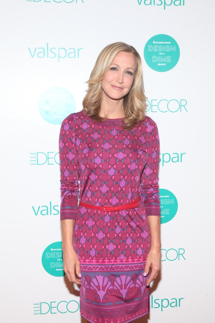 Lara Spencer  at Housing Works 9th Annual Design On A Dime Benefit (Photo by Yoni Levy)