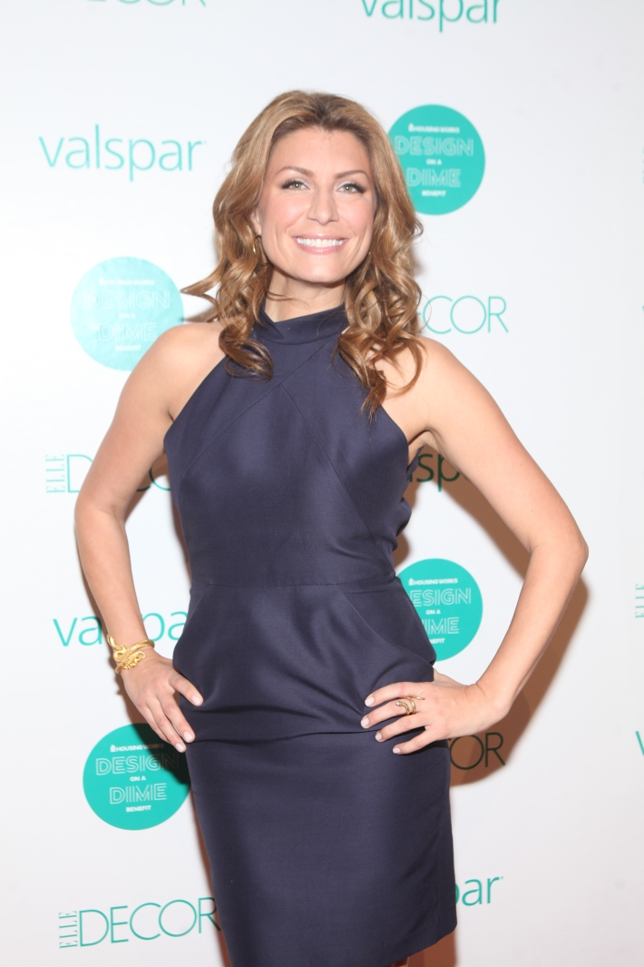 Genevieve Gorder at  Housing Works 9th Annual Design On A Dime Benefit (Photo by Yoni Levy)