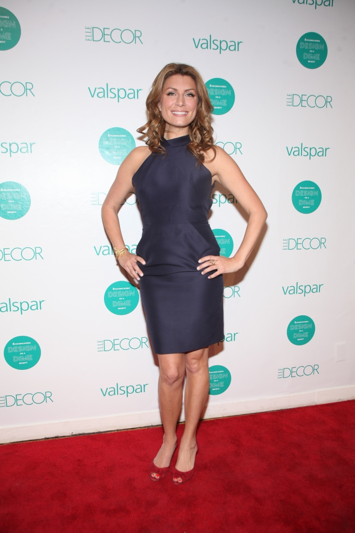 Genevieve Gorder at  Housing Works 9th Annual Design On A Dime Benefit