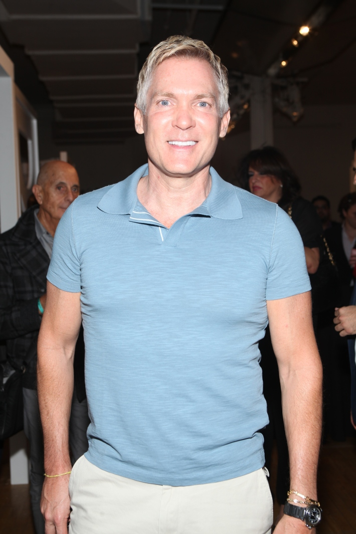Sam Champion at Housing Works 9th Annual Design On A Dime Benefit (Photo by Yoni Levy)