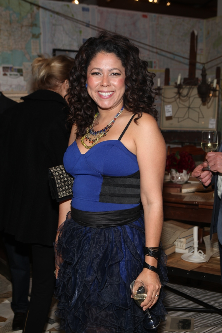 Evette Rios at Housing Works 9th Annual Design On A Dime Benefit (Photo by Yoni Levy)