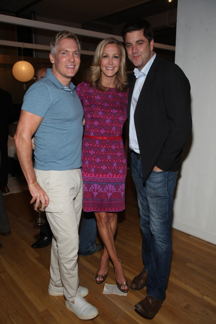 Sam Champion, Lara Spencer and Josh Elliott at Housing Works 9th Annual Design On A Dime Benefit (Photo by Yoni Levy)