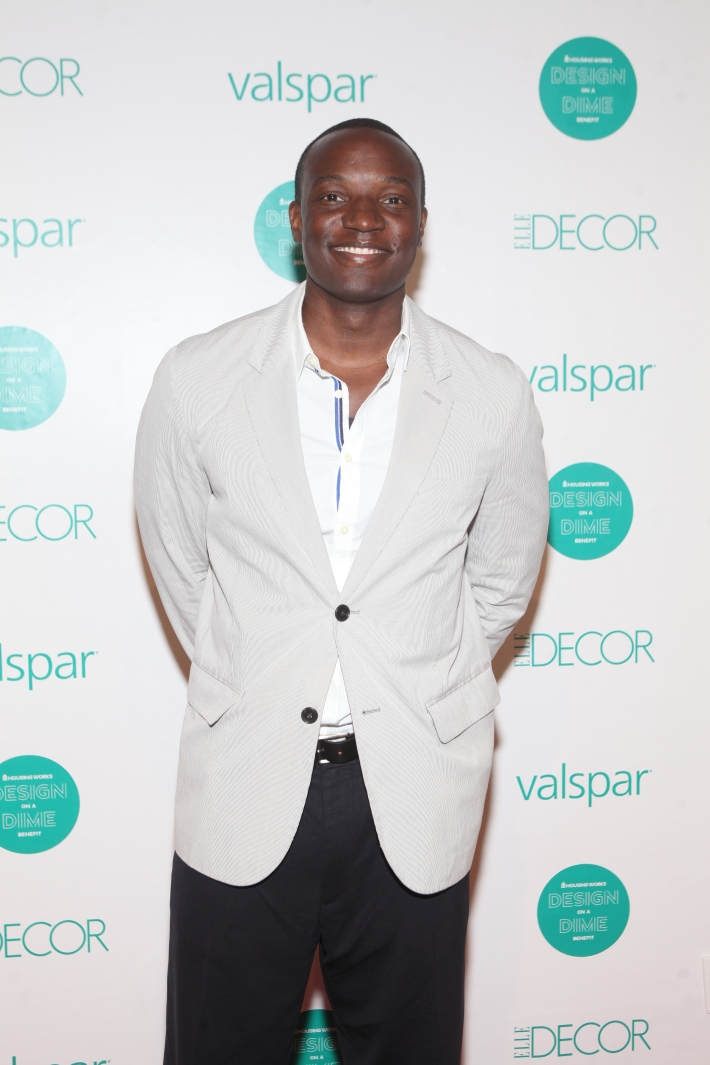 TV personality Kwame Jackson at Housing Works 9th Annual Design On A Dime Benefit (Photo by Yoni Levy)