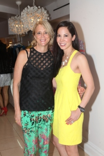 """Karin Tanabe and Nanette Lepore Celebrate the Release of """"The List""""   (Photo by Yoni Levy)"""