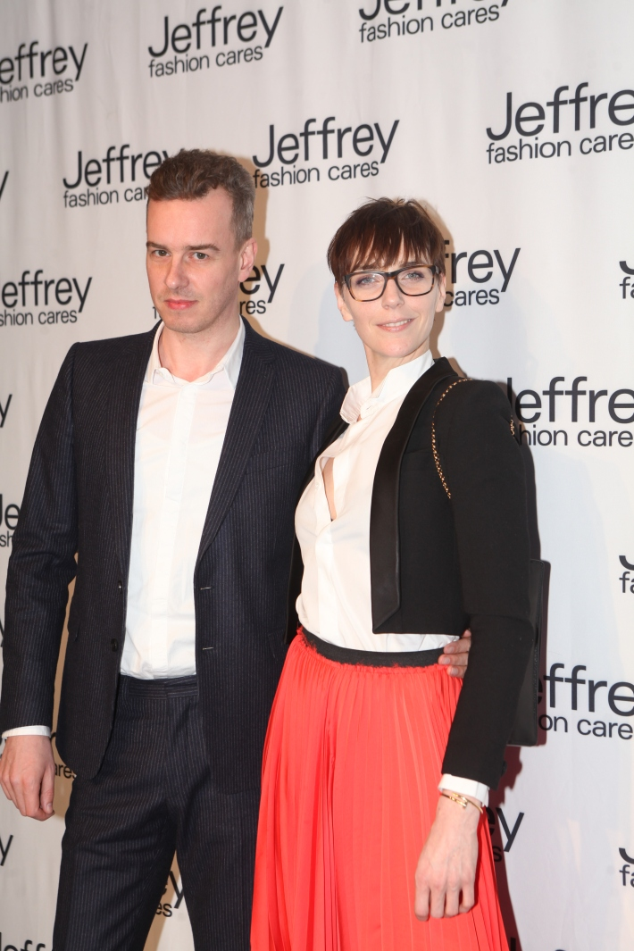 Guests at Jeffrey Fashion Cares 10th Anniversary Celebration Photo by Yoni Levy