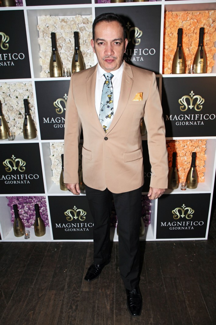 Anthony Rubio at Magnifico Giornata Infused Essence Collection Launch Party (Photo by Yoni Levy)