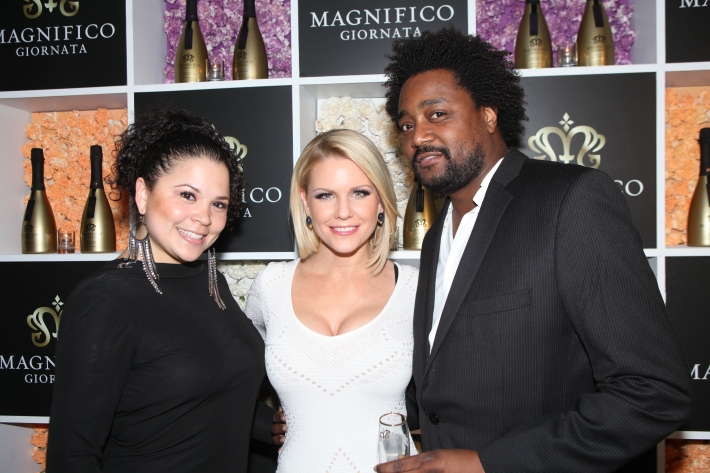 Carrie Keagan at Magnifico Giornata Infused Essence Collection Launch Party (Photo by Yoni Levy)