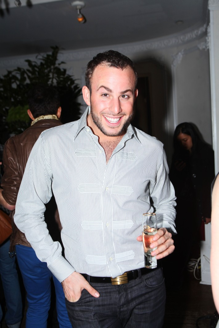 Micah Jesse at Magnifico Giornata Infused Essence Collection Launch Party (Photo by Yoni Levy)