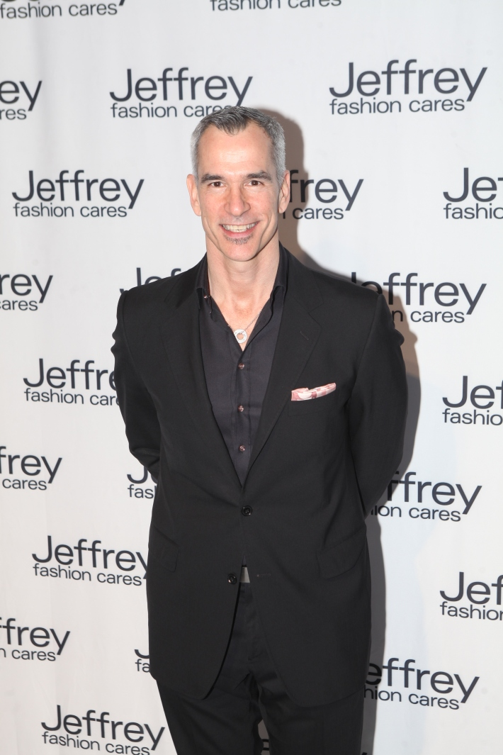 Jerry Mitchell at Jeffrey Fashion Cares 10th Anniversary Celebration Photo by Yoni Levy
