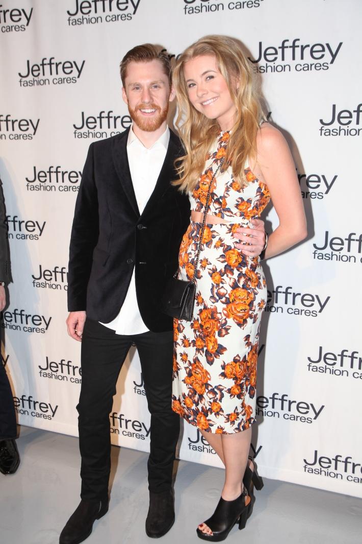 Matthew Feldman and Alex Nordstrom at Jeffrey Fashion Cares 10th Anniversary Celebration Photo by Yoni Levy