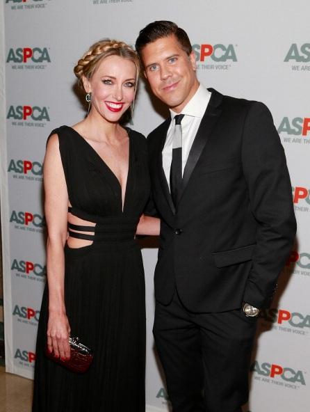 Melanie Lazenby and  Fredrik Eklund attend 16th Annual ASPCA Bergh Ball