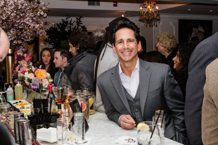 Bob Manfredonia at Magnifico Giornata Infused Essence Collection Launch Party (Photo by Patrick MacLeod)