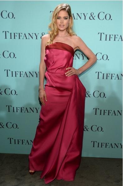Model Doutzen Kroes attends Tiffany & Co. Its Blue Book Ball At Rockefeller Center
