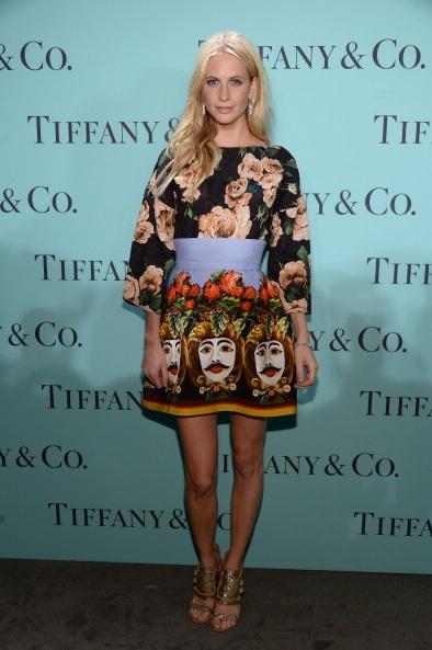 Model Poppy Delevingne attends Tiffany & Co. Its Blue Book Ball At Rockefeller Center