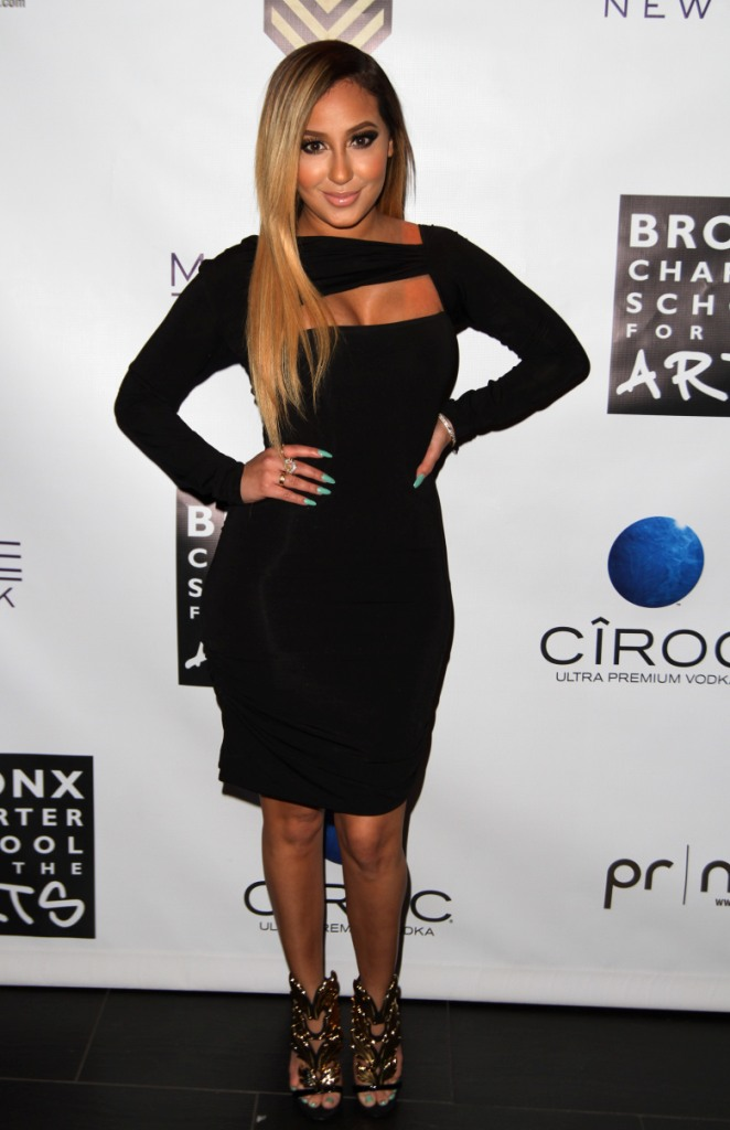 Adrienne Bailon attends Bronx Charter School For The Arts 2013 Art Auction Photo by Jerritt Clark