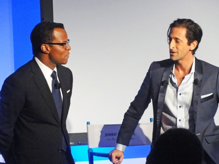 Adrien Brody and Geoffrey Fletcher at The Bombay Sapphire Imagination Series: Film World Premiere (Photo by Yoni Levy)