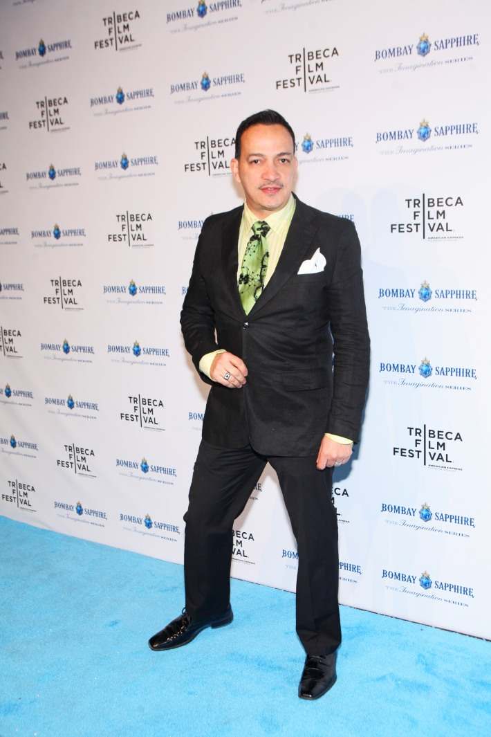 Designer Anthony Rubio attends The Bombay Sapphire Imagination Series: Film World Premiere (Photo by Yoni Levy)