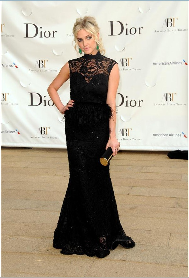 Ashlee Simpson attends the 2013 American Ballet Theatre Opening Night Spring Gala (Photo by StephenLovekin)