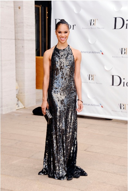 Misty Copeland attends the 2013 American Ballet Theatre Opening Night Spring Gala (Photo by StephenLovekin)