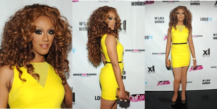 Honey Mahogany attends RuPaul's Drag Race Season 5 Finale Party in New York (Photo by BenGabbe)