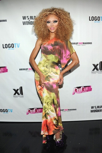 Serena Cha Cha attends RuPaul's Drag Race Season 5 Finale Party (Photo by BenGabbe)