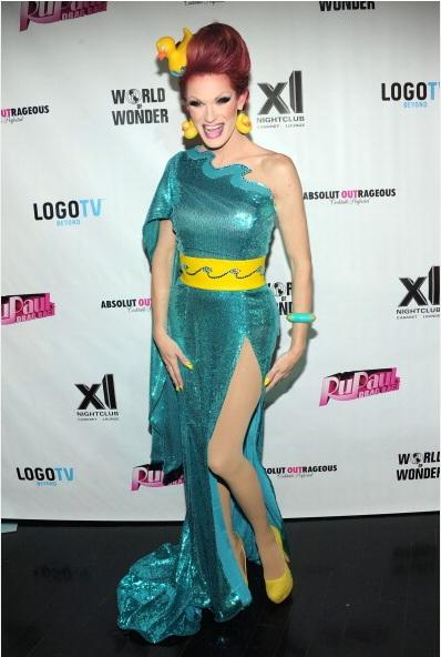 Ivy Winters attends RuPaul's Drag Race Season 5 Finale Party (Photo by BenGabbe)