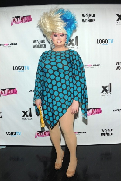 Penny Tration attends RuPaul's Drag Race Season 5 Finale Party (Photo by BenGabbe)
