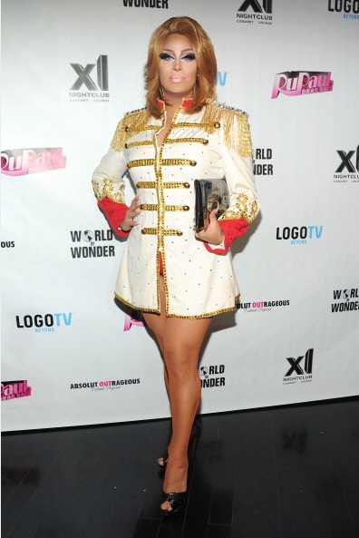Roxxxy Andrews attends RuPaul's Drag Race Season 5 Finale Party (Photo by BenGabbe)
