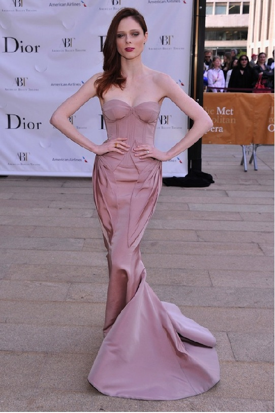 Coco Rocha attends the 2013 American Ballet Theatre Opening Night Spring Gala (Photo by StephenLovekin)