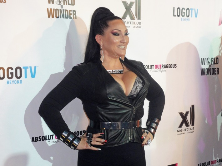 Michelle Visage attends RuPaul's Drag Race Season 5 Finale Party in New York