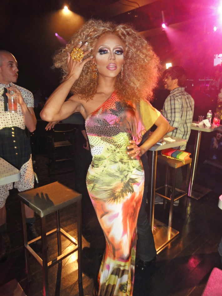 Serena Cha Cha attends RuPaul's Drag Race Season 5 Finale Party in New York