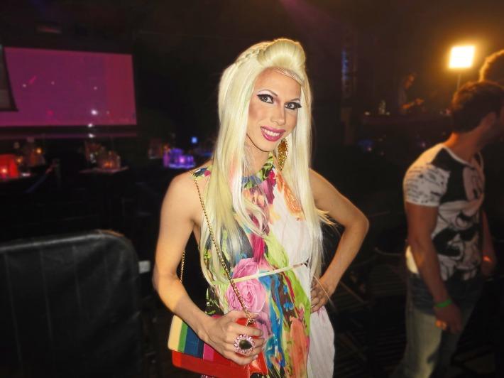 Jade Jolie attends RuPaul's Drag Race Season 5 Finale Party in New York