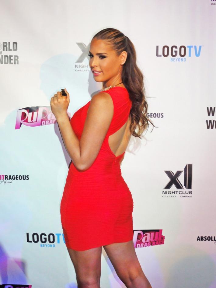 Carmen Carrera attends RuPaul's Drag Race Season 5 Finale Party in New York