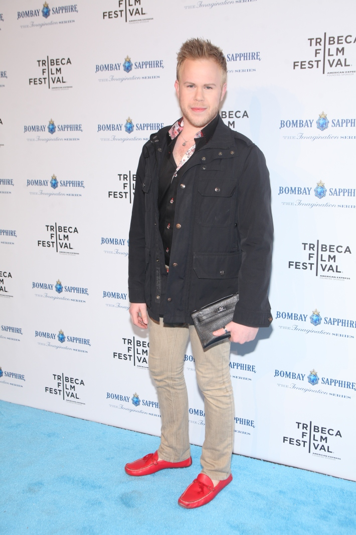 Photographer Andrew Werner attends The Bombay Sapphire Imagination Series: Film World Premiere (Photo by Yoni Levy)