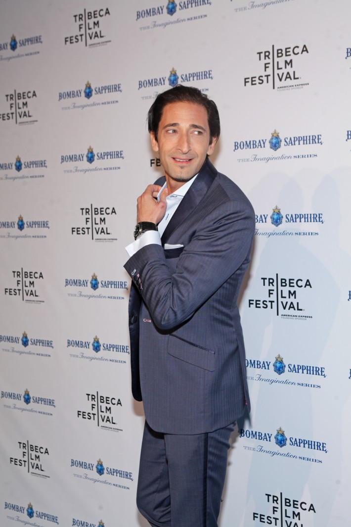 Adrien Brody The Bombay Sapphire Imagination Series: Film World Premiere (Photo by Yoni Levy)