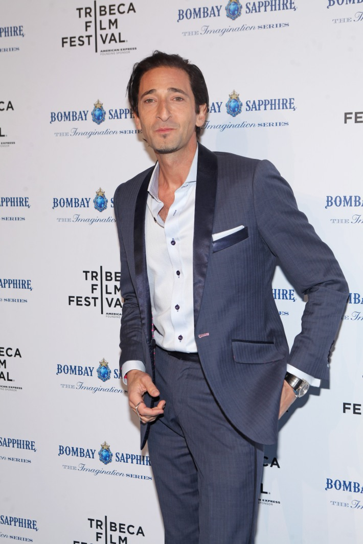 Adrien Brody at The Bombay Sapphire Imagination Series: Film World Premiere (Photo by Yoni Levy)