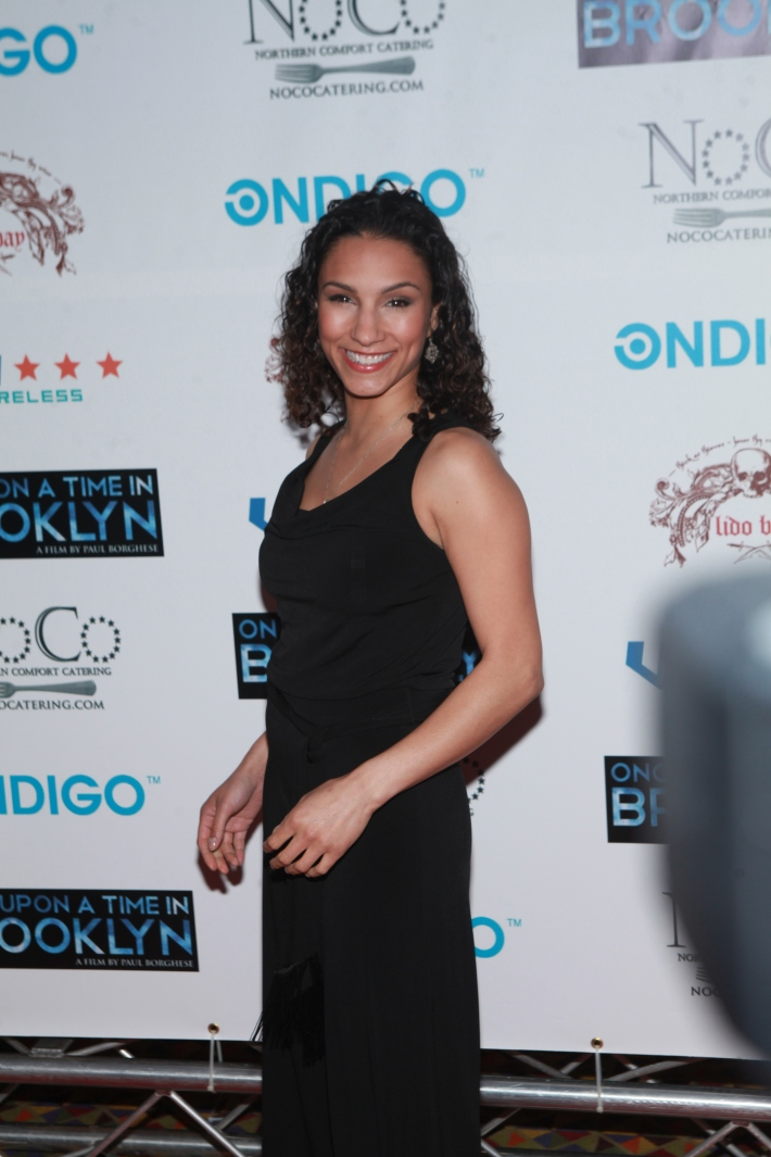 Elia Monte-Brown at Once Upon A Time In Brooklyn Film Screening (Photo by Yoni Levy)