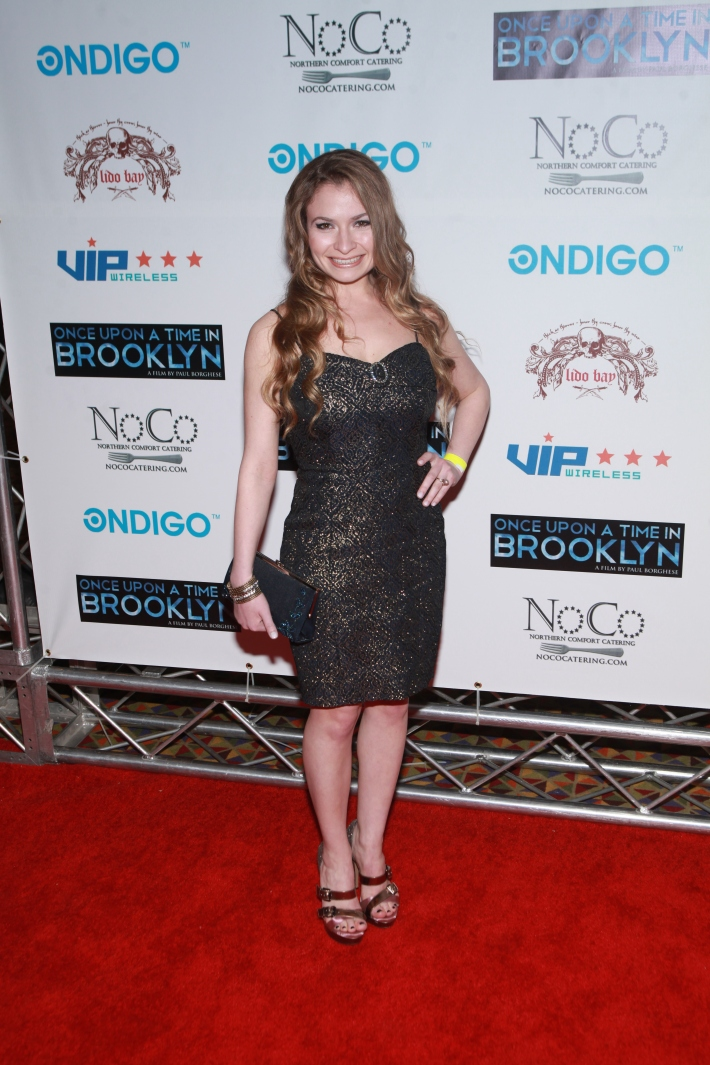 Actress Jaclyn Ingoglia at Once Upon A Time In Brooklyn Film Screening  (Photo by Yoni Levy)